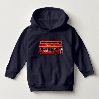 Der rote London-Doppeldecker-Bus Hoodie