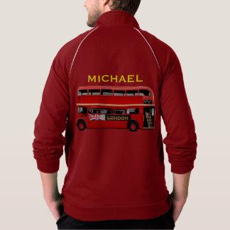 Der rote London-Doppeldecker-Bus Jacke