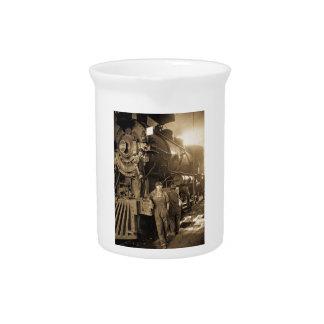 Der Roundhouse Rosies des Ersten Weltkrieges Krug