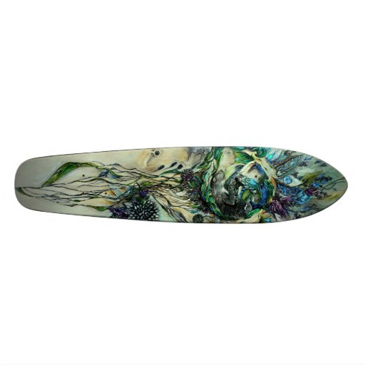 Der ruhige Schlaf Longboard Personalisiertes Skateboard