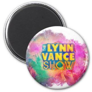 Der runde Magnet Show Lynns Vance mehrfarbig