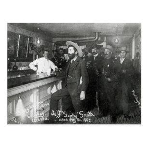 Der Saal-Bar des seifigen Smiths Postkarte