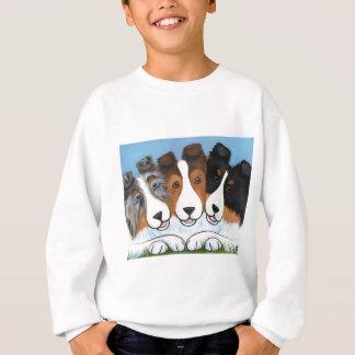 """Der Sable """"der besten Freundin"""", Tri Farbe und Sweatshirt"""