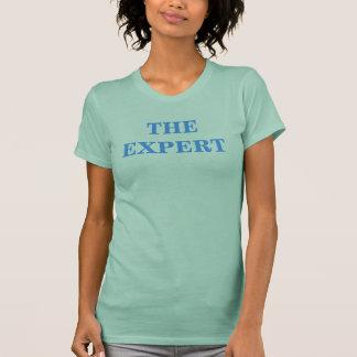 Der sachverständigen hellblaue T - Shirt der