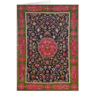 Der salzende Teppich, c.1588-98 Karte