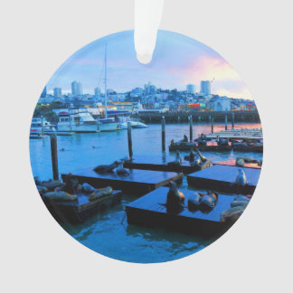 Der San Francisco Pier-39 Verzierung Seelöwe-#5 Ornament