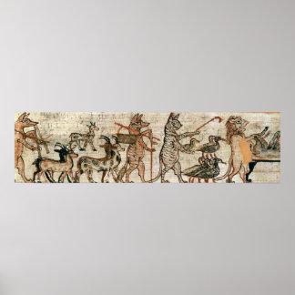 Der Satirical Papyrus Poster