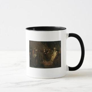Der Säugling Christus im Tempel Tasse