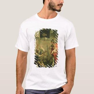Der Säugling Cyrus mit dem Schäfer T-Shirt