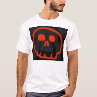 Der Schädel-T-Stück des Kindes T-Shirt