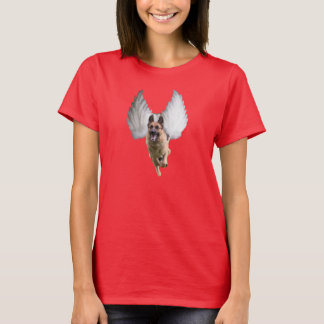 Der Schäferhund-Engels-T - Shirt der Frauen