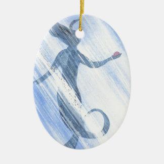 Der Schatz der Meerjungfrau Keramik Ornament