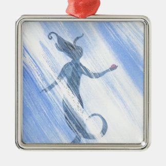 Der Schatz der Meerjungfrau Silbernes Ornament
