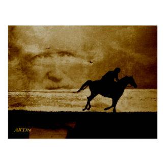 Der Schimmelreiter - Theodor Storm Postkarte