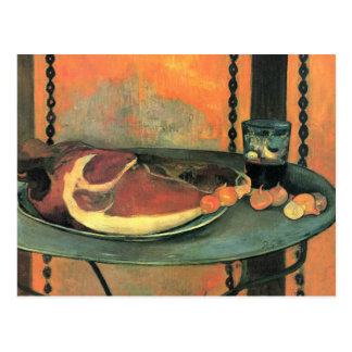 Der Schinken - Paul Gauguin Postkarte