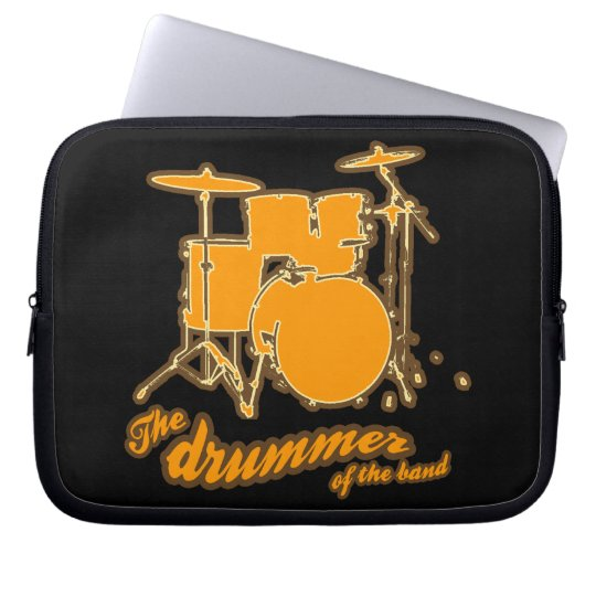 Der Schlagzeuger Laptop Sleeve Schutzhüllen