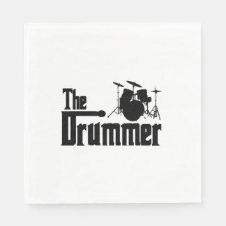 Der Schlagzeuger Papierservietten