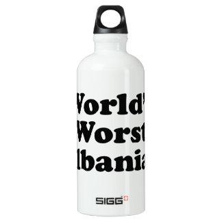 Der schlechteste Albaner der Welt Aluminiumwasserflasche