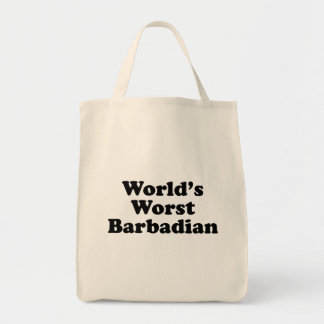 Der schlechteste Barbadian der Welt Tragetasche