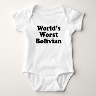 Der schlechteste Bolivianer der Welt Baby Strampler