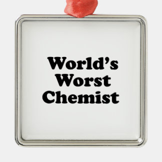 Der schlechteste Chemiker der Welt Ornament