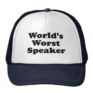 Der schlechteste Lautsprecher der Welt Retromütze