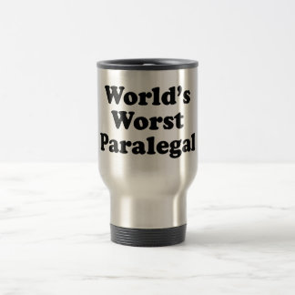 der schlechteste Rechtsassistent der Welt Reisebecher