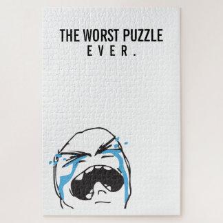 DER SCHLECHTESTE schreiende Schleppangelwitz des Puzzle