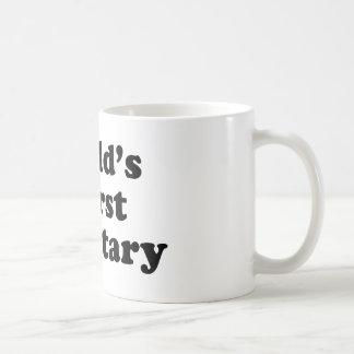 Der schlechteste Sekretär der Welt Kaffeetasse