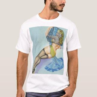 Der Schleier, circa Button 1949 herauf Kunst T-Shirt