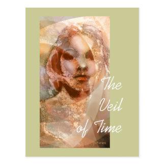 Der Schleier der Zeit Postkarte