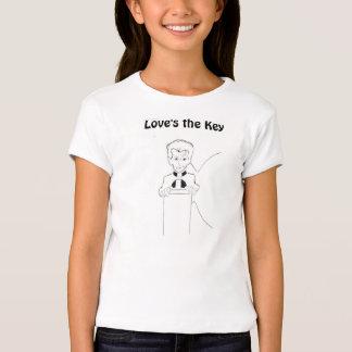 Der Schlüssel der Liebe - T-Stück Shirt