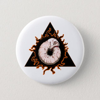 Der schmuddelige Auftrag von GROT Runder Button 5,1 Cm
