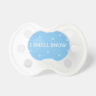 Der Schnee-Liebhaber Schnuller