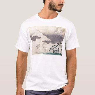 Der schöne Fujisan in Japan circa 1800s T-Shirt