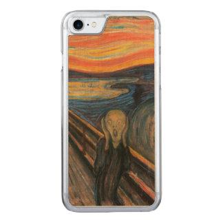 Der Schrei Carved iPhone 8/7 Hülle
