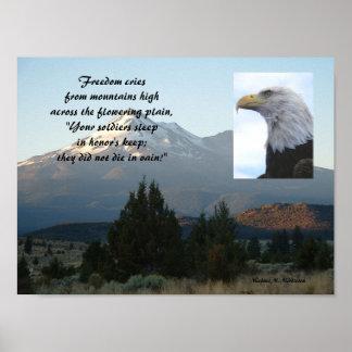 Der Schrei der Freiheit Poster