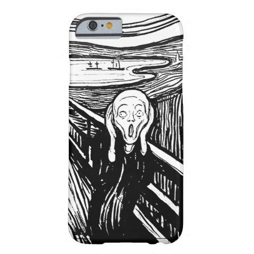 Der Schrei durch Edvard Munch Barely There iPhone 6 Hülle