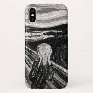 Der Schrei durch Edvard Munch iPhone X Hülle