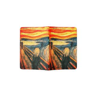 Der Schrei durch Edvard Munch Passhülle