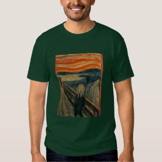 Der Schrei durch Edvard Munch Shirts