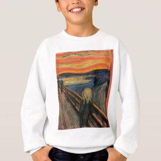 Der Schrei durch Edvard Munch Sweatshirt