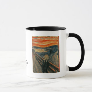 Der Schrei durch Edvard Munch Tasse