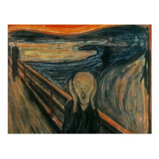 Der Schrei - Edvard Munch Postkarte