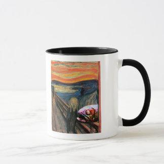 Der Schrei (mit Coelacanth) Tasse
