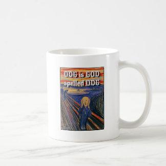 Der Schrei - ODG ist GOTT buchstabiertes ODG Kaffeetasse