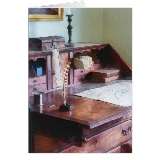 Der Schreibtisch des Kartographen Karte