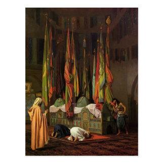 Der Schrein des Imams Hussein durch Jean-Leon Postkarte