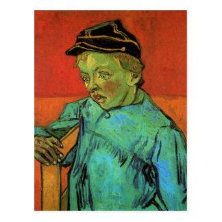 Der Schüler Camille Roulin durch Vincent van Gogh Postkarte
