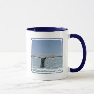 Der Schwanz-Kaffee-Tasse des Wals Tasse